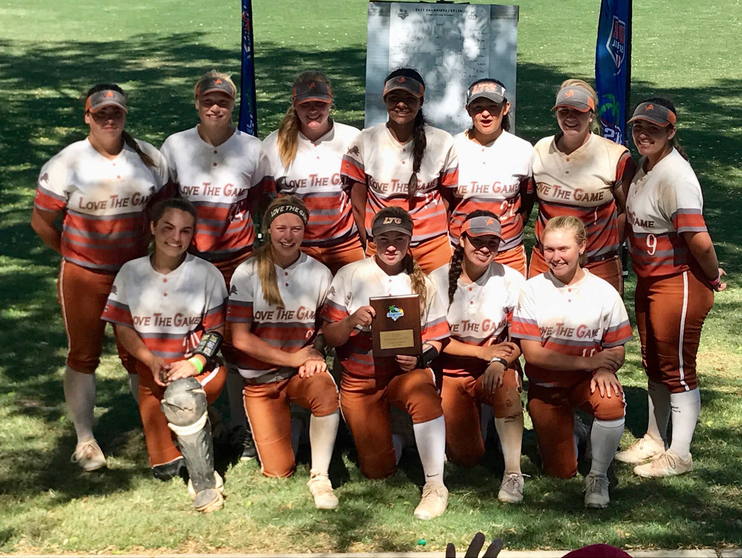 LTG 16U Henderson/Lively Earned 1st Place in the 2017 Champions Cup 16U!