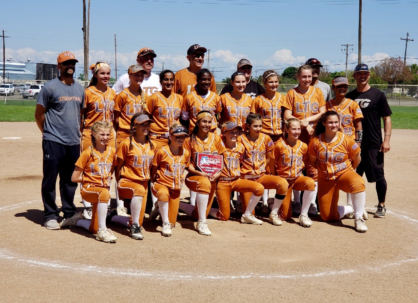 LTG 12U Henderson/Tillery/Lively team earns 2018 PGF Premier Nationals Berth!