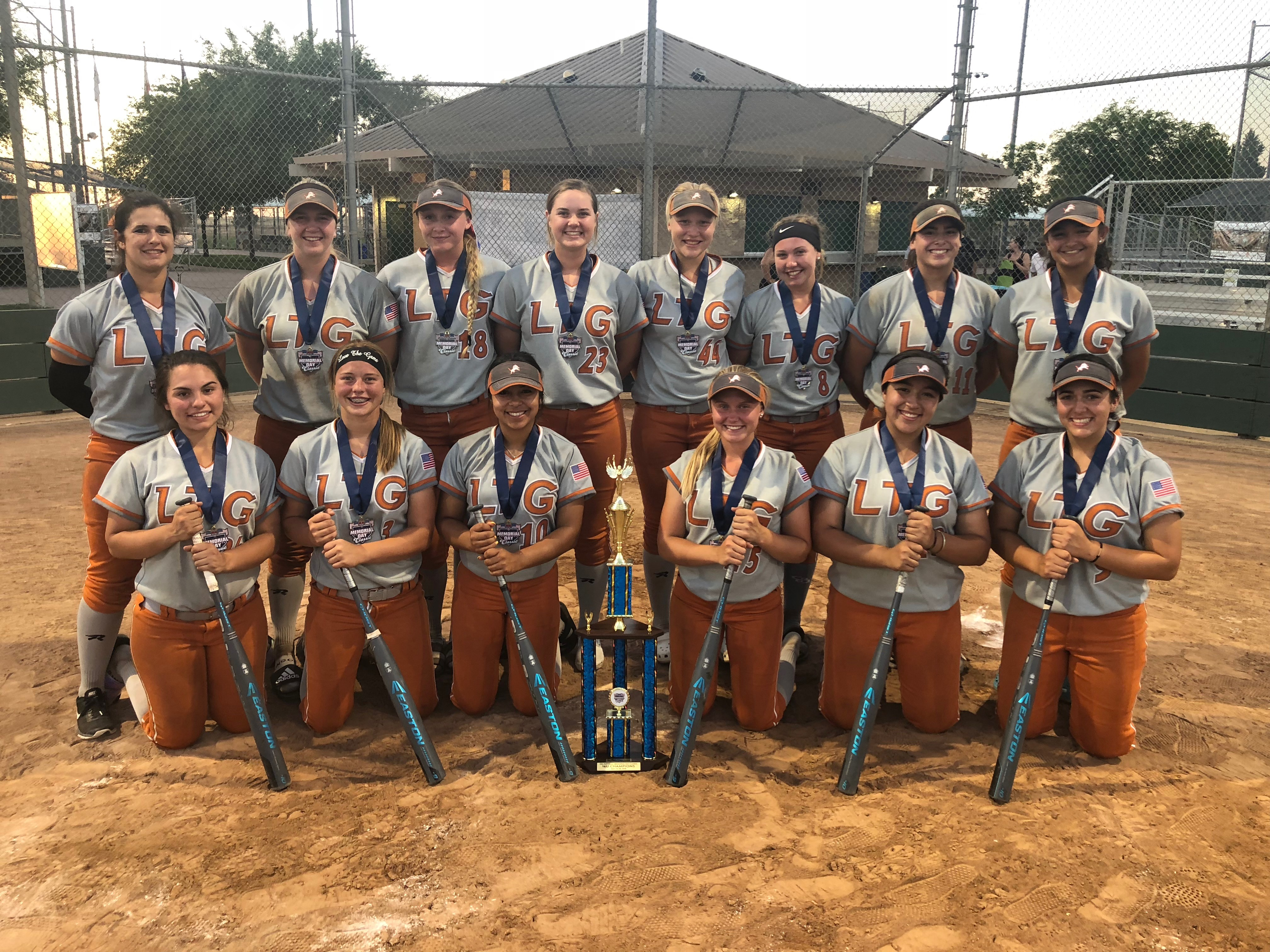 LTG 16U Henderson/Lively Team Finishes 1st Place in the USA Softball Memorial Day Classic